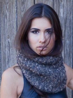 BE Infinity Scarf by Monika Ramizi
