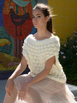 Esli Sweater by Monika Ramizi Handmade Knitwear
