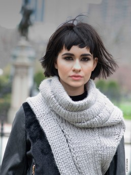 Signature Wrap by Monika Ramizi Handmade Knitwear