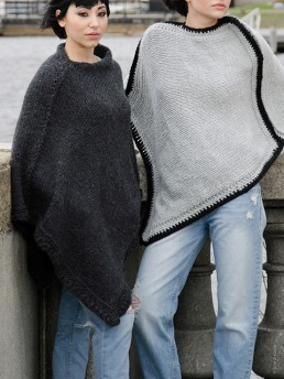 Square Cape by Monika Ramizi Handmade Knitwear