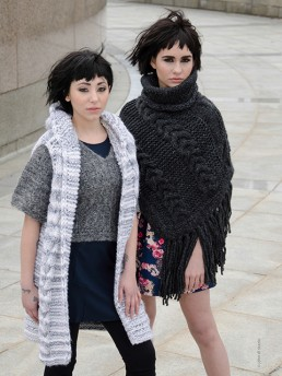 Hooded Vest by Monika Ramizi Handmade Knitwear